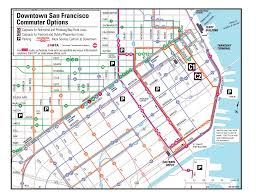 Bart Line Map by Sfmta Archives Not Current Bart Strike Commuter Options In San