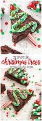 easy brownie christmas trees lil u0027 luna