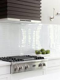 Bathroom Backsplash White Glass Tile  Whitesubwayglass - Backsplash white