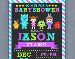 Monster Inc Baby Shower Decorations Star Wars Baby Shower Invitation Star Wars Baby Shower Star