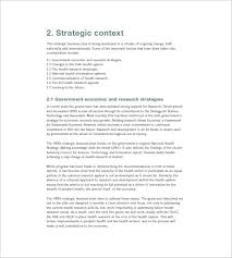 strategic business plan template u2013 8 free word excel pdf format