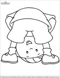 caillou free printable coloring pages hooray kiddos