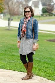 sweater dress and what i wore sweater dress denim jacket