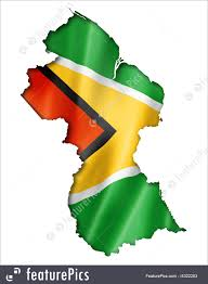 Guyana Map Flags Guyanese Flag Map Stock Illustration I4322203 At Featurepics