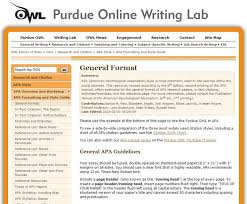 Resume Style Guide Best Ideas Of Purdue Owl Apa Format Reference Page On Download