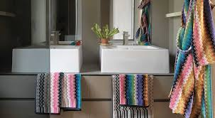 20 ways to missoni bath towels
