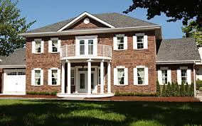 Colonial House Style A Georgian Colonial Revival House Usually Has A Portico And Can