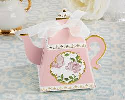 Tea Favor by Tea Time Whimsy Teapot Favor Box Pink Set Of 24 My Wedding