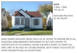 carpe diem buy houses in detroit for 250 monthly pmt u003d 1