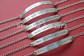 personalized wedding jewelry silver chain bracelet bridesmaid bracelet customized handmade