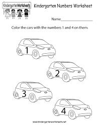 kindergarten numbers worksheets u0026 kindergarten worksheets