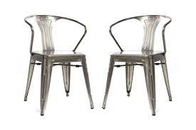 Lot De 2 Chaises Industrielles Argent Métal Kirk Chaise R Chaiseindustriellemetal Beau Chaise Metal Pas Cher Lot