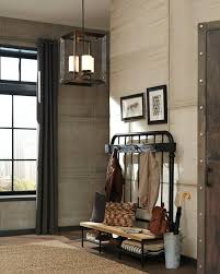 Foyer by 5140503 71 Three Light Hall Foyer Antique Bronze