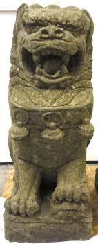 foo dog lion 4ft size foo dog guardian lion sculptures carved