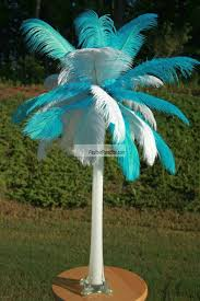 ostrich feather centerpieces wholesale mix sorted color ostrich feather centerpieces 6 sets