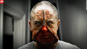Realistic Halloween Costume Disfigured Freaks Hellish Hounds Bloody Babies Cnn