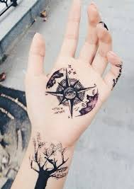 one piece compass tattoo 21 fabulous compass tattoo designs awesome tat