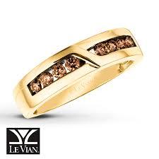 kay jewelers credit card kay levian chocolate diamonds 1 2 ct tw men u0027s ring 14k honey gold