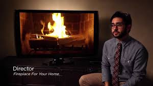 netflix fireplace for your home behind the scenes youtube