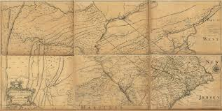 Map Of Counties In Pennsylvania by 1755 To 1759 Pennsylvania Maps