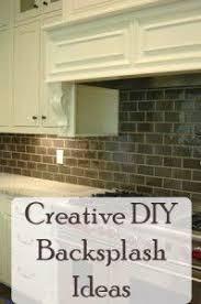 Best DIY Backsplash Images On Pinterest Backsplash Ideas - Diy backsplash ideas