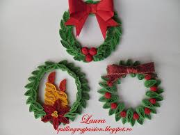 quilling my quilled ornaments