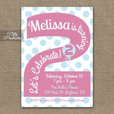birthday invites latest 2nd birthday invitations design ideas
