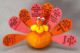turkey pumpkins how to make a thankful turkey