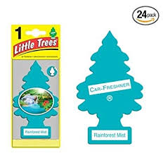 trees car air fresheners rainforest mist scent