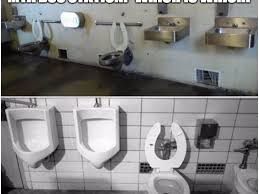 Bathroom Meme - prison or bus station bathroom meme goes viral mta promises