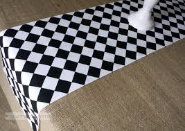 black and white table runners cheap black and white table runner harlequin check runner