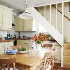 Kitchen And Living Room Design Ideas by Small Kitchen With Stairs Small Kitchen With Stairs With Small