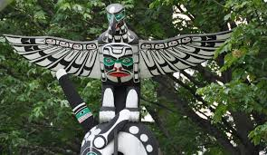 Garden Art Pole Learning About Totem Poles In Vancouver British Columbia