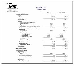 Year To Date Profit And Loss Statement Free Template by Management Report Sle Monthly Financial Report Free Doc Format