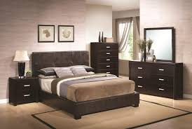 Small Master Bedroom King Size Bed Bedroom Exotic Bedroom Design With Black Wooden Cabinets And
