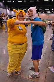 Finn Jake Halloween Costume 110930 0550 Anime Weekend Atlanta Adventuretime Finnandjake