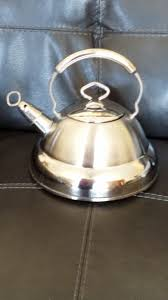culinary essentials whistling tea kettle 2 8 qt 2 6 capacity tea