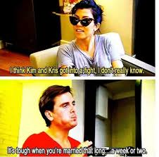 Scott Disick Meme - scott disick on kim kris getting into a fight after marriage on