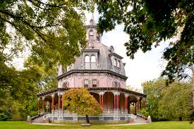 dazzling 1860 u0027s octagon house in new york state house crazy
