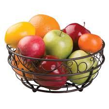 Fruit Bowls by Amazon Com Interdesign Twigz Fruit Bowl U2013 Wire Fruit Basket For