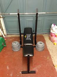 Everlast Olympic Weight Bench Everlast Bench Press And Weights 40kg Total In East Boldon