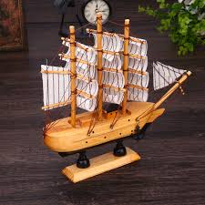 classics wooden sail boat model craft ship household ornaments
