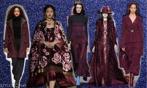 burgundy tendenza colore inverno 2017 foto stylosophy