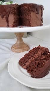 mi receta de pastel de chocolate rápido con un betún de