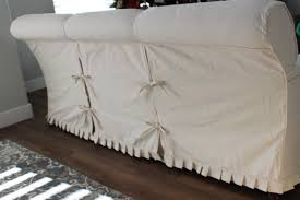 Pillow Back Sofa Slipcover by Custom Slipcovers By Shelley