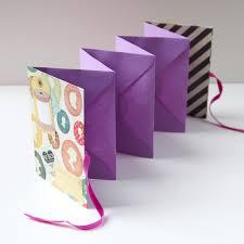 Accordion Photo Album Diy Folding Envelope Mini Album Gathering Beauty