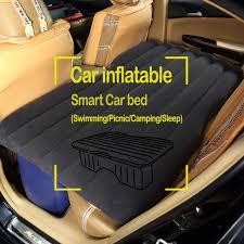 si e auto gonflable matelas d air de voiture voyage lit siège d auto couverture arrière