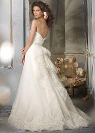 gorgeous tiered back details sweetheart wedding dress with lace