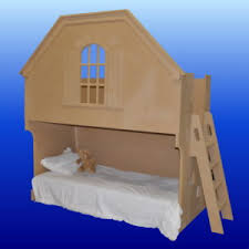 Doll House Bunk Bed Cottage Dollhouse Style Bunk Beds Custom Designed And Built