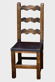 Reclaimed Dining Chairs Reclaimed Hardwood Dining Chair With Scalloped Back